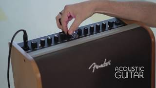 New Gear: Fender Acoustic 200 Amp Review