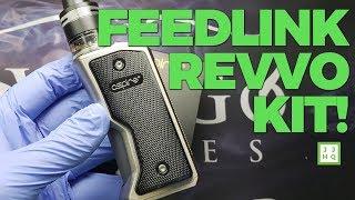 Aspire Feedlink Revvo Kit Unboxing   JUICYJONESHQ