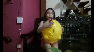GIANT YELLOW PIGGIE BANK|START THEM YOUNG|CUTIE ODHING TV