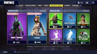 BOUTIQUE FORTNITE DU 30 OCTOBRE 2018 - FORTNITE ITEM SHOP OCTOBER 30 2018