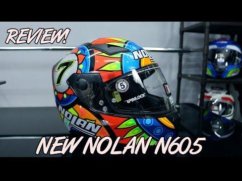REVIEW HELM NOLAN N605 TERBARU | LAYZ MOTOR