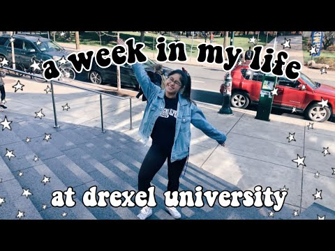 A Week In My Life At College (drexel University) // Ashley Claire