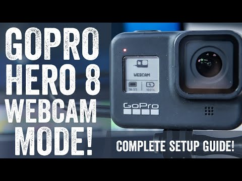 GoPro Webcam Mode! Setup guide for Zoom, OBS, Skype, Teams, and more!