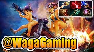 @WagaGaming Dota 2 [Techies] How To Godlike With Techies