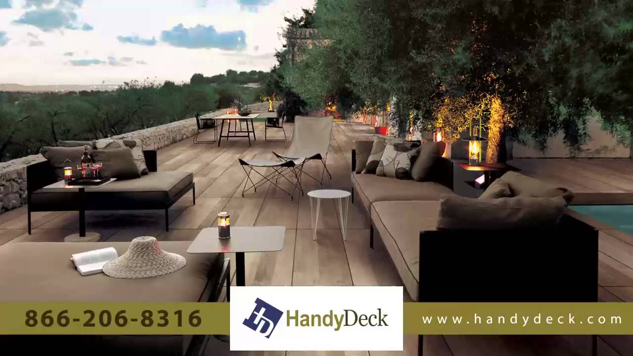 Handydeck Deck Tiles And Porcelain Pavers For Stunning Decks Patios