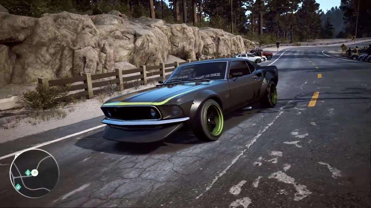 Need For Speed Payback Ford Mustang Rtr Drift Build Hd 60fps Youtube