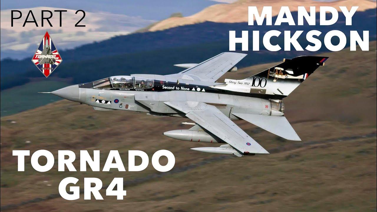 Tornado GR4 & Motivational Speaking | Mandy Hickson (Part 2)