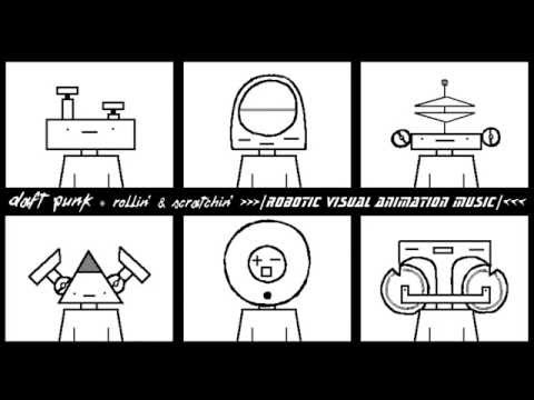 Daft Punk  Rollin & Scratchin Tribute Animation