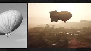 Voo de balão e dirigível