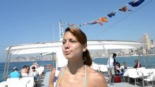 Ferry to Benidorm Island