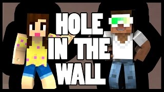 HOLE IN THE WALL - Minecraft Mini-Game w/Biggs87x  -