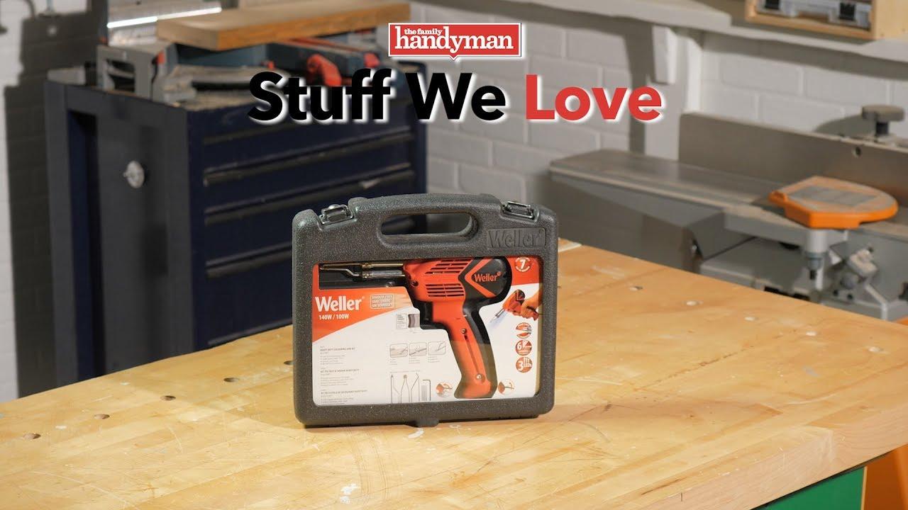 stuff we love: weller 100-watt/140-watt soldering gun