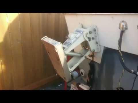 OMC Outboard Mounting Bracket Cylinder Rebuild
