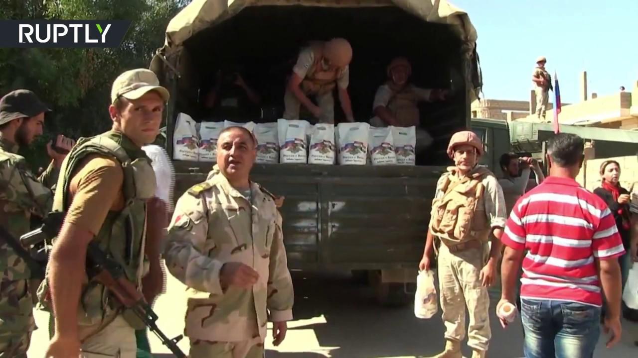 Несмотря ни на что: Россия продолжает оказывать гуманитарную помощь Сирии