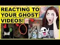 Reacting To Ghosts YOU CAUGHT In Your Videos & Photos