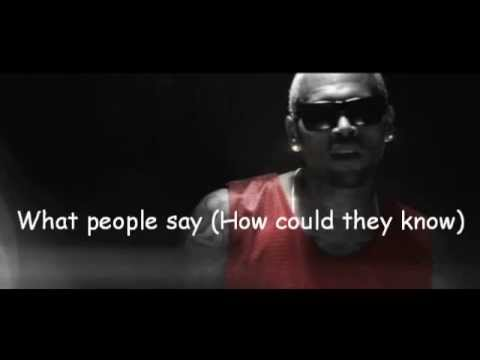 Chris Brown - Don't Think They Know Lyrics