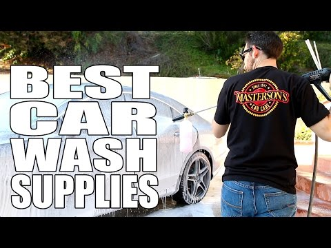 Car Wash Supplies Near Me >> Best Car Wash Supplies For Detailing Masterson S Car Care Auto