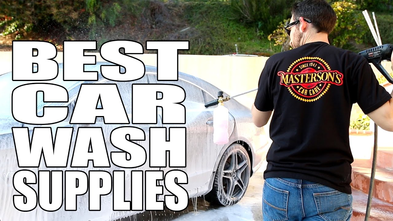 Best interior car detailing products - Best Car Wash Supplies For Detailing Masterson S Car Care Auto Detailing