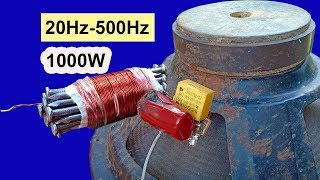 How to make audio Subwoofer filter and Middle circuit at home