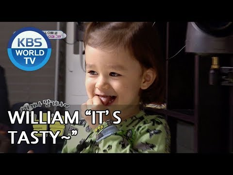 OH NO..William likes to eat his boogers!! [The Return of Superman/2019.04.21]