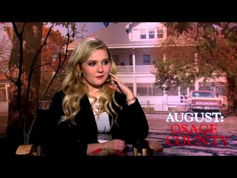 August: Osage County: Abigail Breslin Official Movie Interview