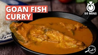 Goan Fish Curry Recipe | Authentic Goan Fish Curry