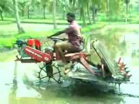 Rice Transplanter India   CHAMPION RP 824   Redlands Ashlyn Motors Plc