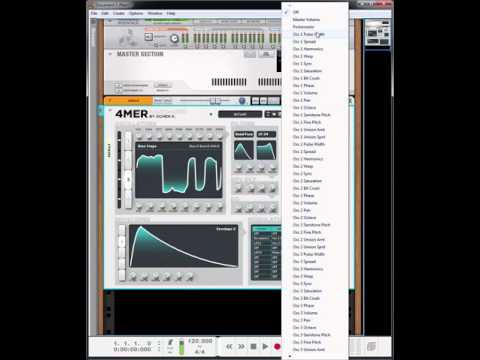 4MER Waveshaping Synth Overview