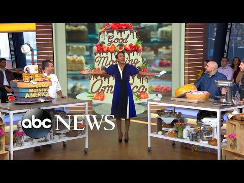 Buddy Valastro and Duff Goldman make pastry magic on 'GMA'