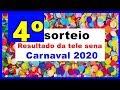 Perdeu o Sorteio da Tele Sena de Carnaval em tao confira Aqui
