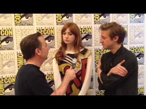 Karen Gillan & Arthur Darvill SDCC 2012 Interview