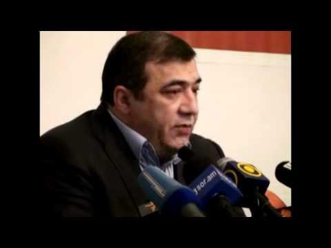 Ruben Hayrapetyan About Armenian - Russian Football Match 03.02.2011