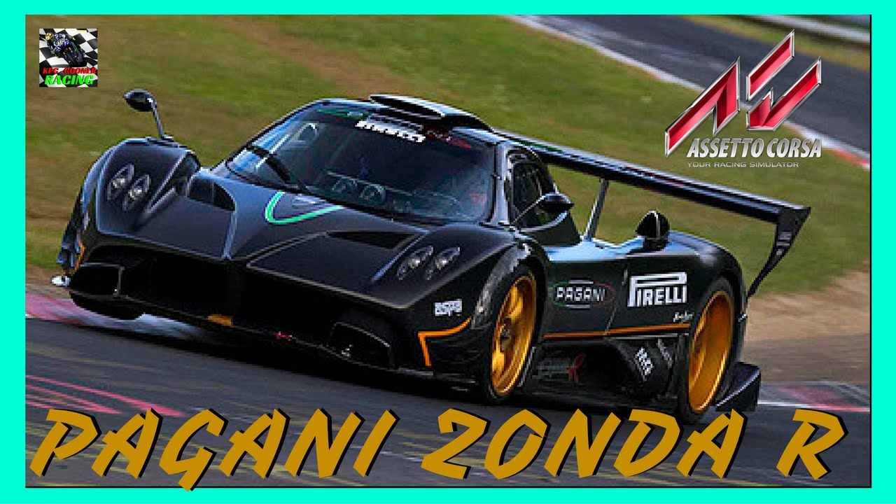 Assetto Corsa PS4 gameplay Career Part 12 | PAGANI ZONDA R @IMOLA CIRCUIT - YouTube