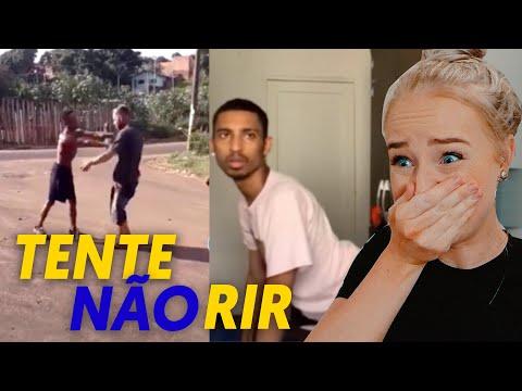 TENTE NÃO RIR COM MEMES BRASILEIRO
