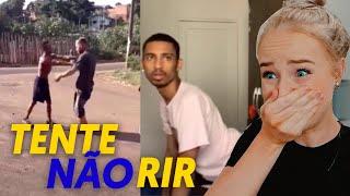 TENTE NÃO RIR! COM MEMES BRASILEIRO