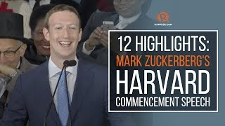 12 highlights: Mark Zuckerberg