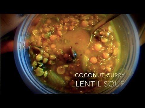 Quick Eats: Coconut Curry Lentil Soup