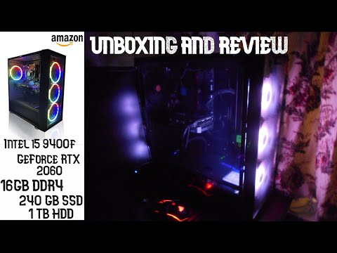 Electrobot GAMING TOWER PC Unboxing & Review