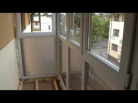 Французский балкон на Жукова вид изнутри