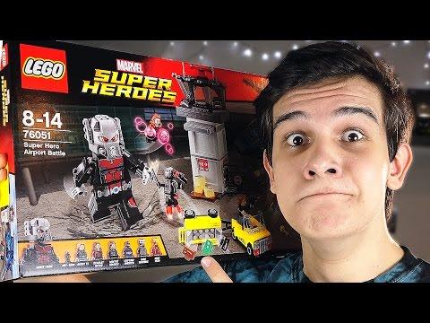 LEGO Marvel Гражданская Война - НАБОР НА ОБЗОР (76051)