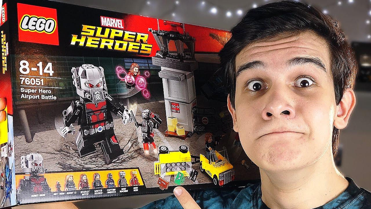 Лего, Lego marvel super heroes обзор персонажей 1 - YouTube