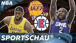 NBA: Lakers vs Clippers - Spektakulärer Saisonstart I Sportschau