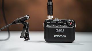 Test Zoom F2-BT - Enregistrement audio AUTOMATIQUE !!!