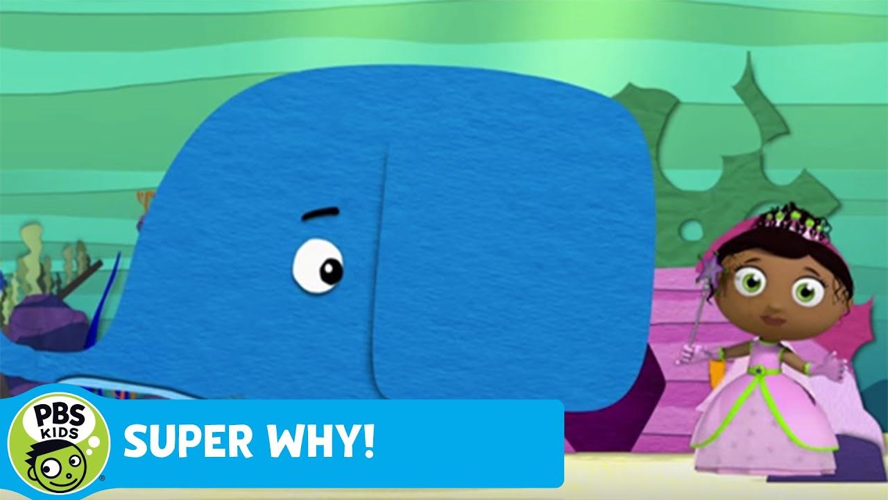 Super why princess pesto tickles the whale pbs kids by pbs kids