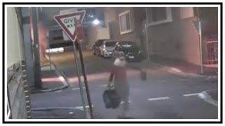 A Bad Santa Commits Arson And Theft On Christmas Day   CCTV   Australia   20161225