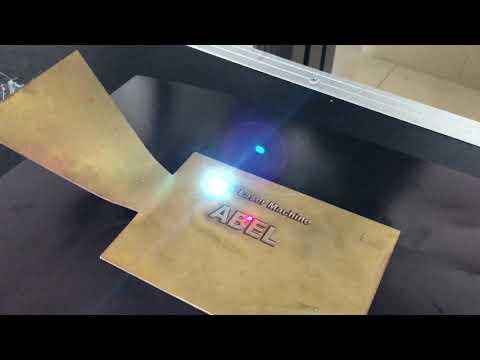 Metal deep laser engraving machine | Firearms deep laser marking | Guns deep laser engraving machine