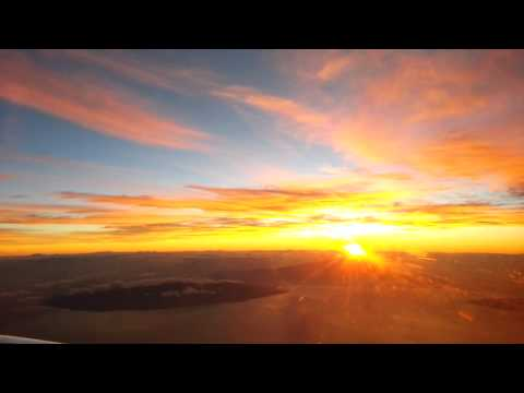 Sunrise @ 20,000 Feet Over Maui & Kahoolawe