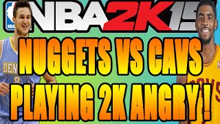 NBA 2K15 Wager Match - Rage Quit + Playing 2K Angry!