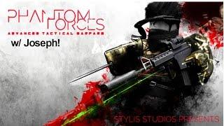 ROBLOX PHANTOM FORCES W/ JOSEPH! (TvT und OP shoty)