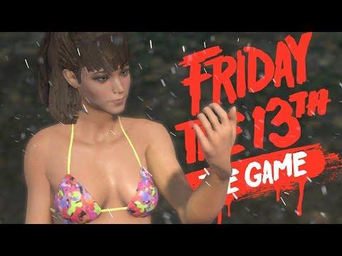 TIFFANY COX + SPRING BREAK BIKINI = GAME OF THE YEAR! | Friday The 13th Gameplay (Spring Break DLC) |
